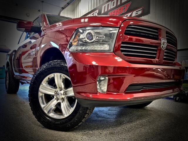 RAM 1500 CREW CAB 4X4 SPORT 2014