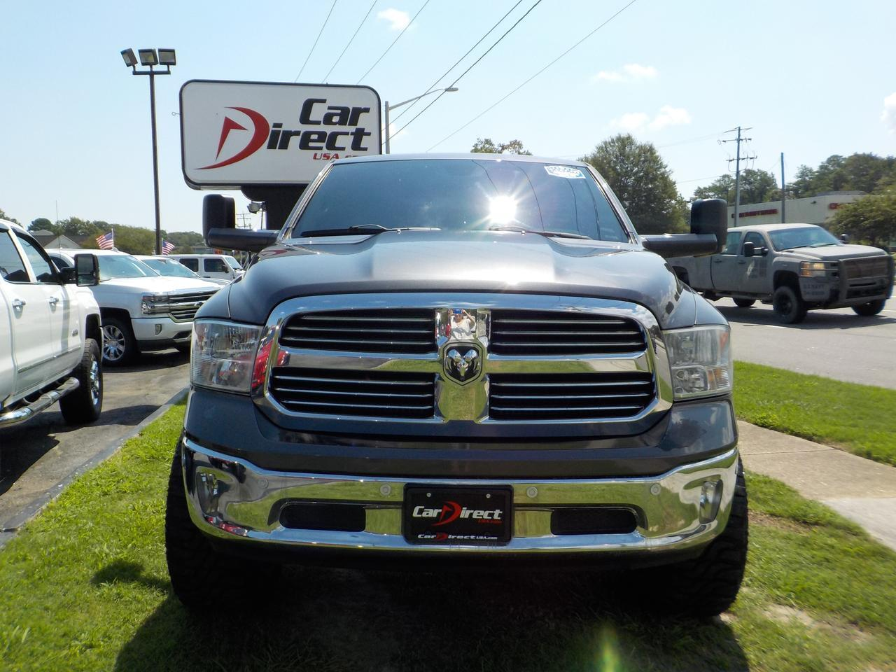 2014 RAM 1500 SLT QUAD CAB 4X4, BACKUP CAM, PARKING SENSORS, BLUETOOTH, UCONNECT, HEATED FRONT SEATS,REMOTE START! Virginia Beach VA
