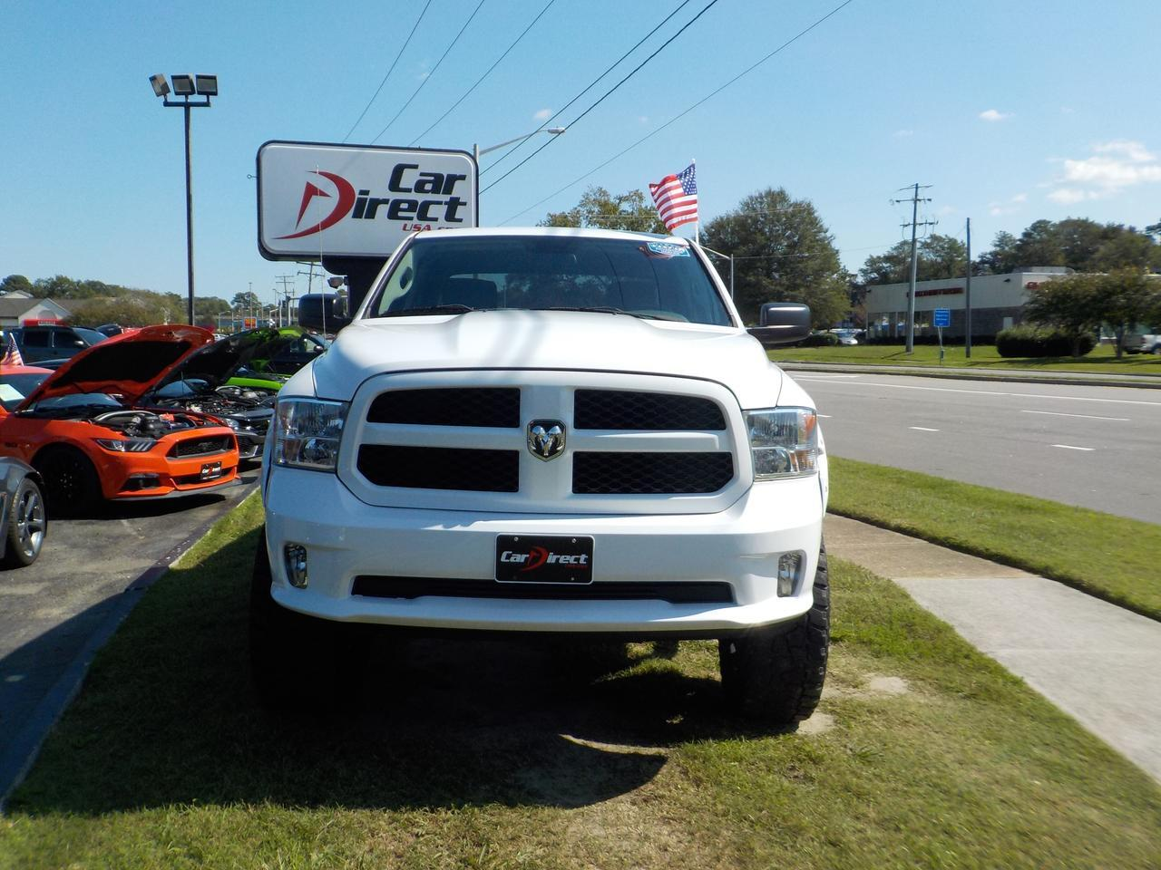 2014 RAM 1500 TRADESMAN CREW CAB 4X4, LIFTED, TOW PACKAGE, RUNNING BOARDS, BED LINER, ONLY 40K MILES! Virginia Beach VA