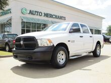 2014_RAM_1500_Tradesman Crew Cab SWB 4WD LEATHER, BED LINER, BLUETOOTH, USB/AUX, STEERING WHEEL CONTROLS_ Plano TX