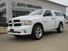 2014_RAM_1500_Tradesman Regular Cab SWB 2WD BLUETOOTH CONNECTVITY, CRUISE CONTROL, BED LINER, CAMPER SHELL_ Plano TX