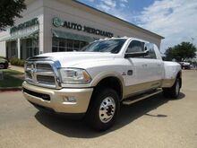 2014_RAM_3500_Longhorn Mega Cab 4WD DRW LEATHER, NAVIGATION, BACKUP CAMERA, TOW MIRRORS, HTD SEATS, SUNROOF_ Plano TX
