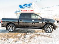Ram 1500 Longhorn Limited, Sunroof, Nav, Heated/Cooled Leather, Remote Start 2014
