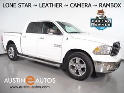 2014_Ram_1500 Crew Cab Lone Star_*BACKUP-CAMERA, TOUCH SCREEN, KATZKIN LEATHER, FRONT HEATED BUCKET SEATS, RAMBOX, BED LINER, PARK SENSE, 20 INCH WHEELS, BLUETOOTH PHONE & AUDIO_ Round Rock TX