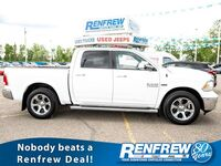Ram 1500 Laramie 4x4 Crew Cab, Navigation, Remote Start, Bluetooth, Cooled/Heated Leather, SiriusXM 2014