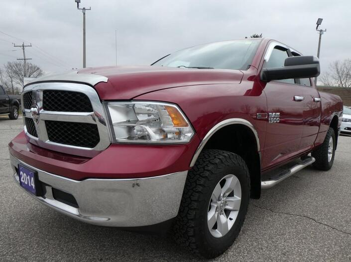 2014 Ram 1500 SLT Diesel 4X4 Tonneau Cover Essex ON