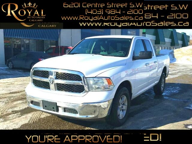 2014_Ram_1500_SLT INT PHONE, STREAMING AUDIO ***PRICE REDUCED***_ Calgary AB