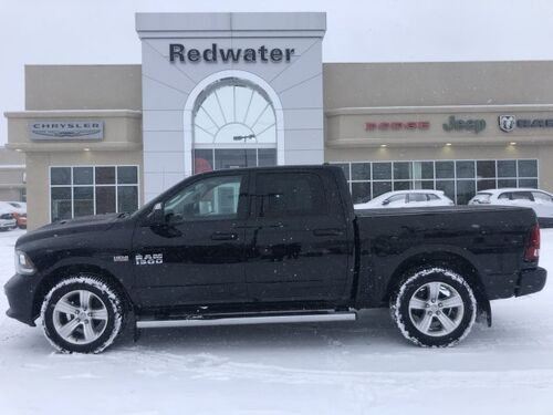 2014_Ram_1500_Sport - 5.7L Engine - Heated/ Ventilated Front Seats - Heated Steering Wheel_ Redwater AB