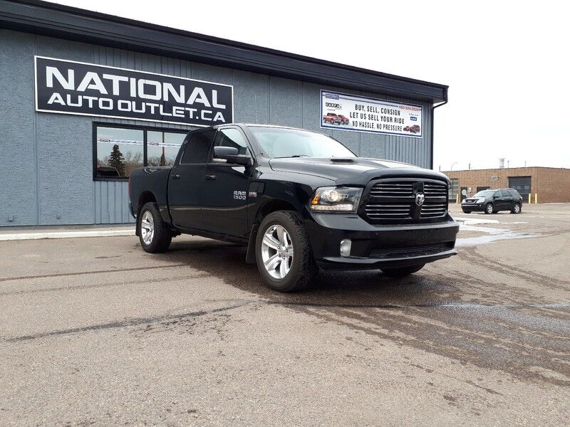 2014 Ram 1500 Sport - HEATED LEATHER, HEATED STEERING WHEEL, COMMAND START Lethbridge AB