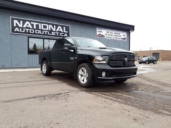 Ram 1500 Sport - HEATED LEATHER, HEATED STEERING WHEEL, COMMAND START Lethbridge AB