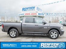 2014_Ram_1500_Sport Crew Cab 4x4, Remote Start, Backup Camera, Bluetooth, SiriusXM_ Calgary AB
