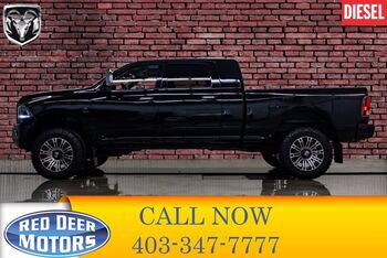 2014_Ram_2500_4x4 Mega Cab Limited Lift Leather Roof Nav_ Red Deer AB