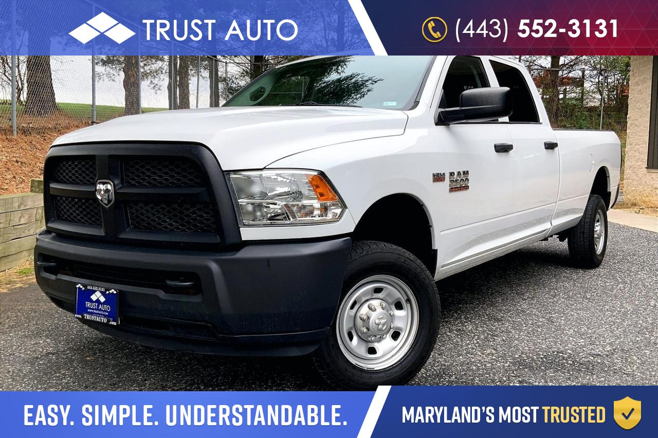 2014 Ram 2500 Tradesman 4WD Crew Cab 8.2FT Long Bed Pickup Truck Sykesville MD