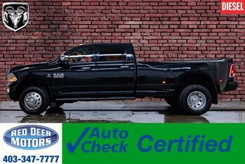 2014_Ram_3500_4x4 Crew Cab Limited Dually Diesel Leather Roof Nav_ Red Deer AB