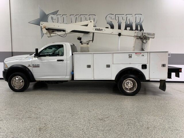 2014 Ram 5500 4WD Cummins Versalift Bucket Truck Dallas TX