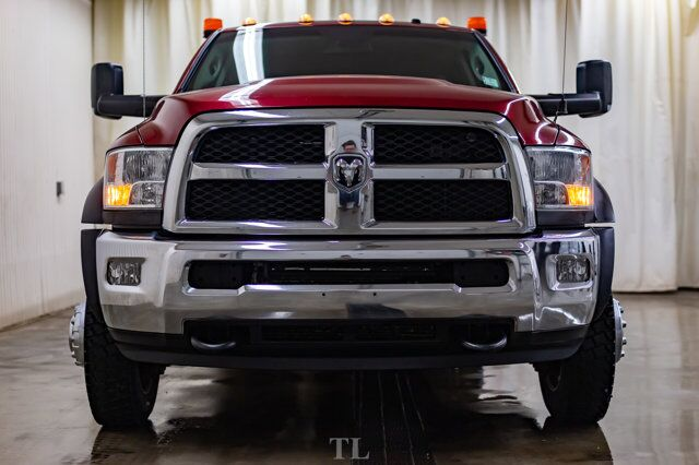 2014 Ram 5500 4x4 Crew Cab SLT Deck Diesel 6-Speed Manual Red Deer AB