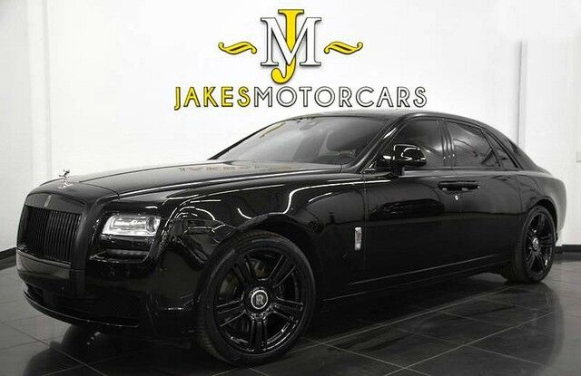 2014 Rolls-Royce Ghost ($331,245 MSRP)~ REAR THEATRE~ *BLACKOUT PACKAGE* San Diego CA