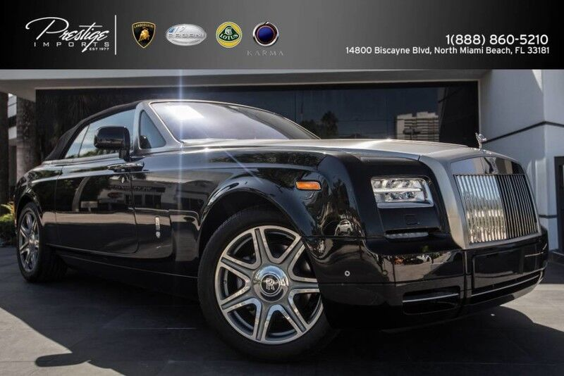 2014_Rolls-Royce_Phantom Coupe_Drophead_ North Miami Beach FL