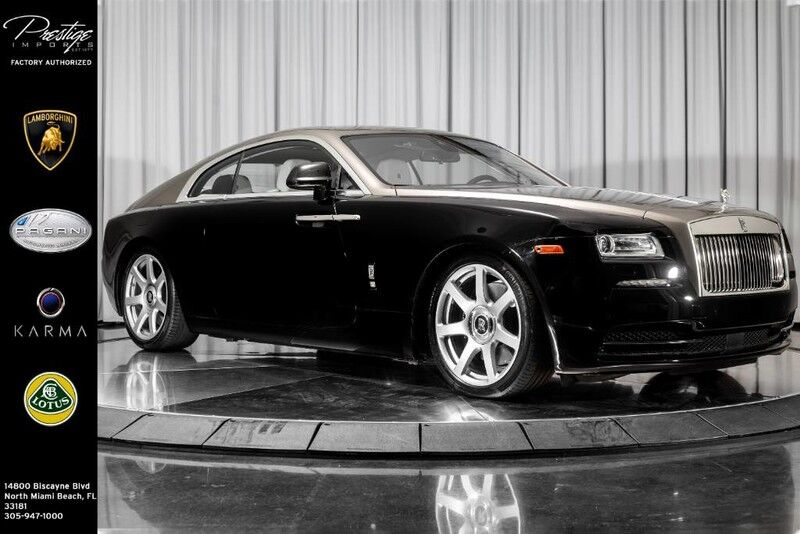 2014_Rolls-Royce_Wraith__ North Miami Beach FL