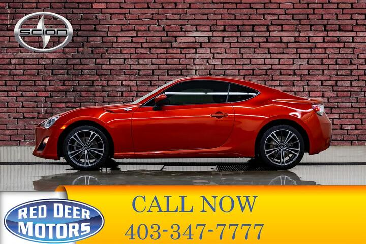 2014 Scion FR-S Coupe Manual Red Deer AB