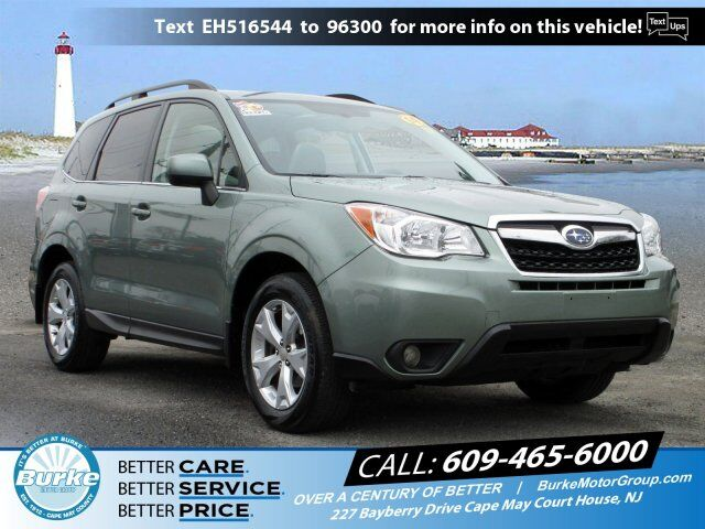 2014 Subaru Forester 2.5i Limited Cape May Court House NJ