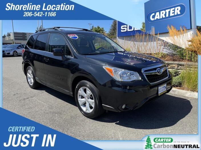 2014 Subaru Forester 2.5i Limited Seattle WA