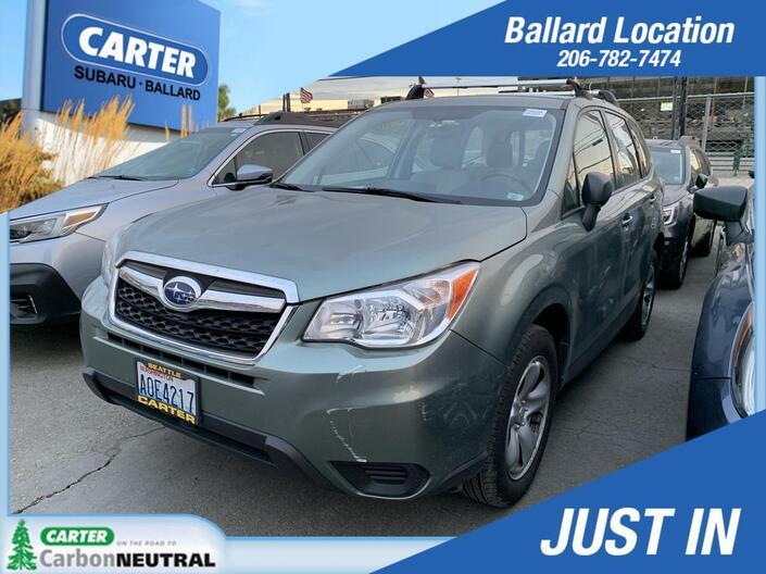 2014 Subaru Forester 2.5i Seattle WA