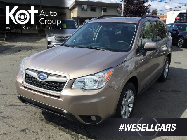 2014 Subaru Forester Limited AWD No Accidents! Sunroof, Heated Front Seats Victoria BC