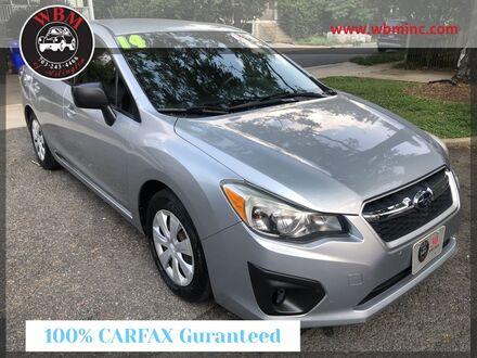 2014_Subaru_Impreza_2.0i Sedan_ Arlington VA