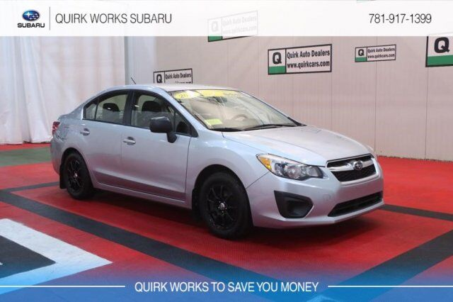 2014 Subaru Impreza Sedan BASE Braintree MA