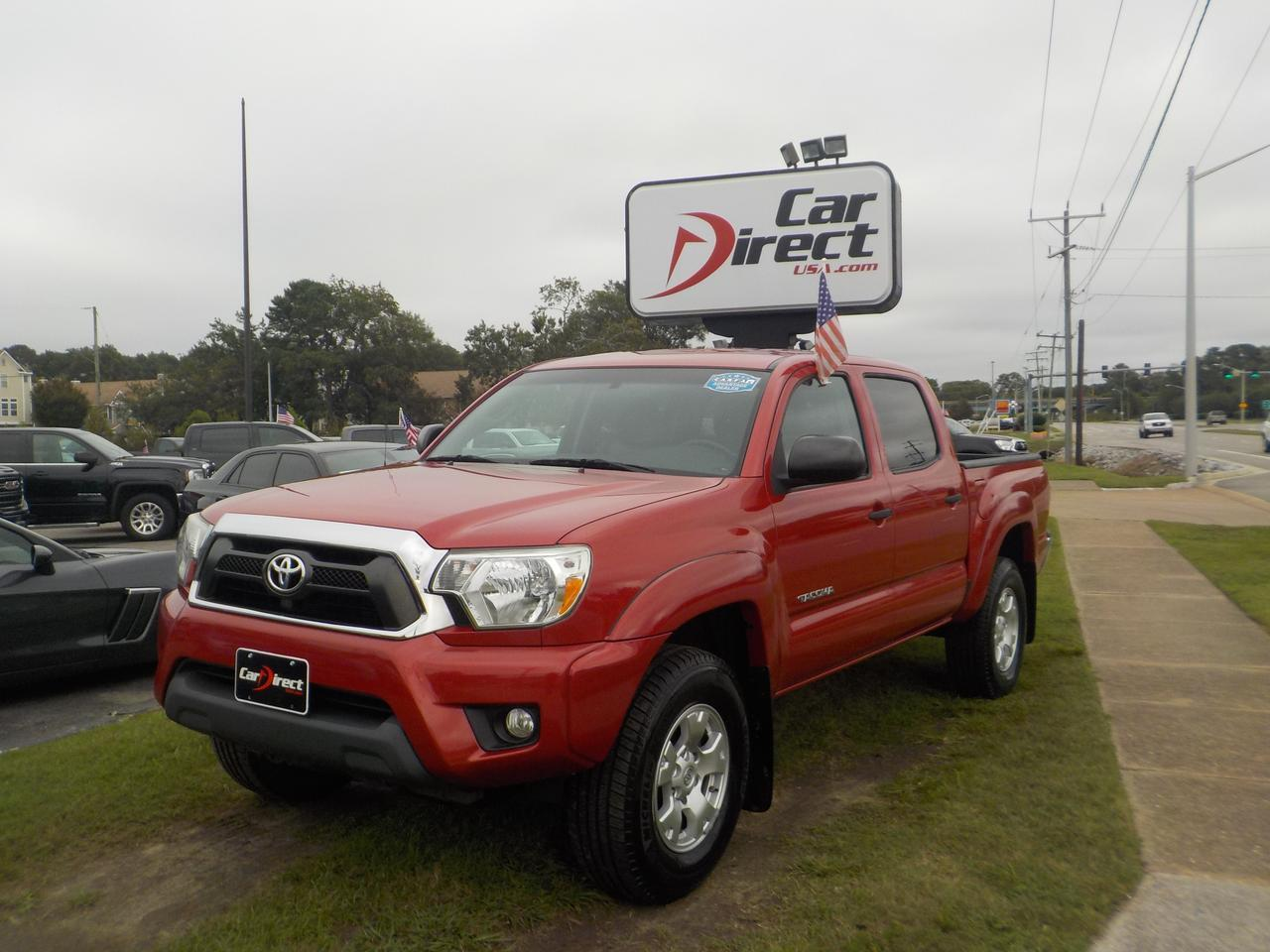 2014 TOYOTA TACOMA SR5 DOUBLE CAB 4X4, ONE OWNER, MANUAL TRANSMISSION, TOW PACKAGE, NAVIGATION, ONLY 59k MILES! Virginia Beach VA