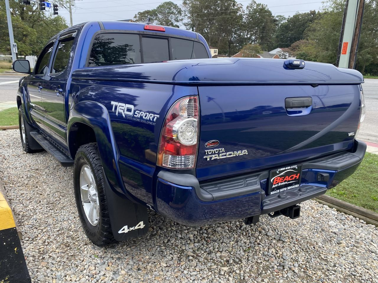 2014 TOYOTA TACOMA TRD SPORT DOUBLE CAB 4X4, WARRANTY, BLUETOOTH, BACKUP CAM, PARKING SENSORS, TOW PKG, CLEAN CARFAX! Norfolk VA