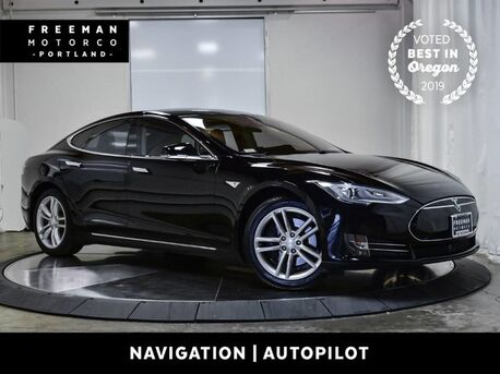 2014_Tesla_Model S_60 Autopilot Blind Spot Asst Nav Back-Up Camera_ Portland OR