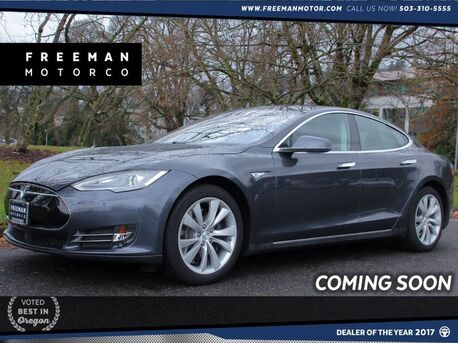 2014_Tesla_Model S_85 Autopilot Pano Roof Back-Up Cam Heated Seats_ Portland OR
