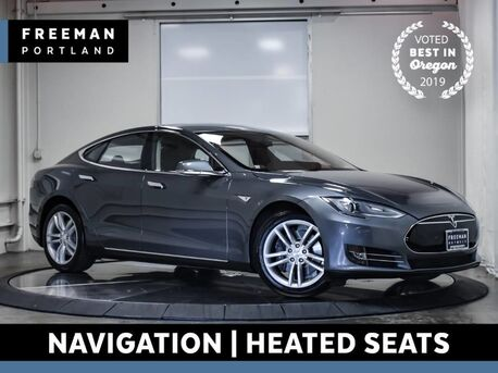 2014_Tesla_Model S_85 Navigation Back-Up Camera Heated Seats_ Portland OR