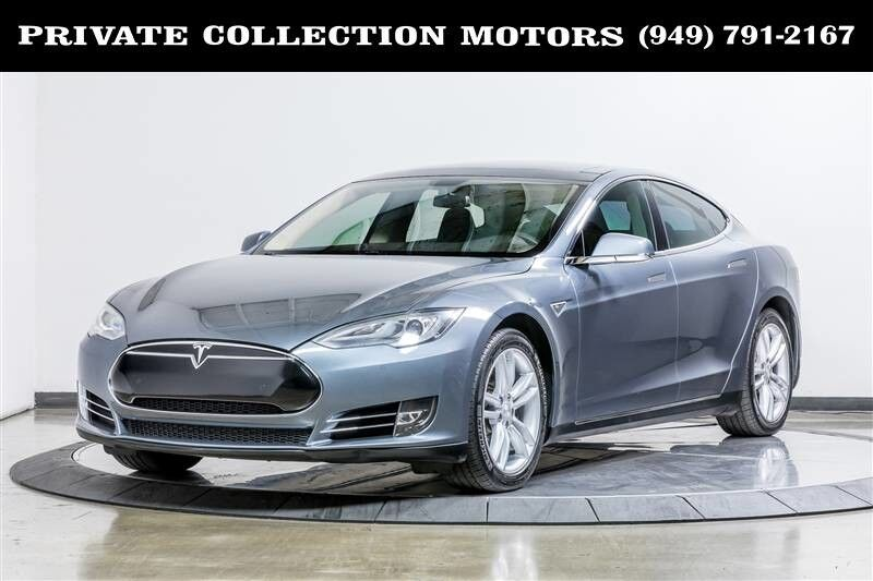 2014_Tesla_Model S_85 kWh Battery 2 Owner Clean Carfax_ Costa Mesa CA