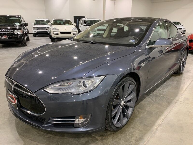 2014_Tesla_Model S_85 kWh Battery_ Charlotte NC