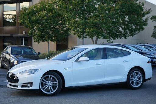 2014_Tesla_Model S_85 kWh Battery_ San Rafael CA