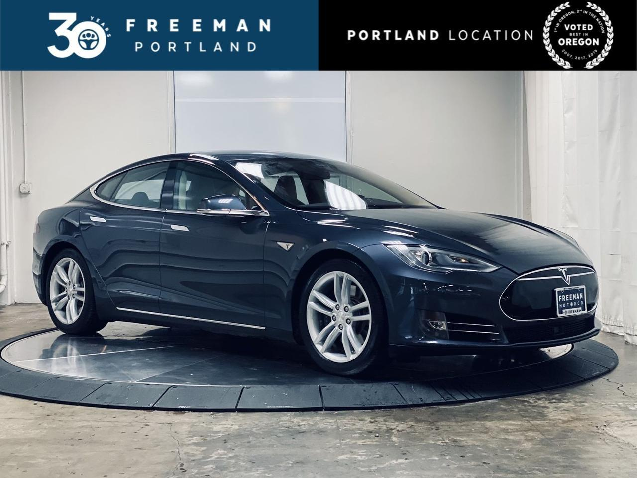 2014 Tesla Model S 85 kWh Panoramic Heated Seats Auto pilot Portland OR