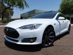 2014_Tesla_Model S_P85D_ Scottsdale AZ