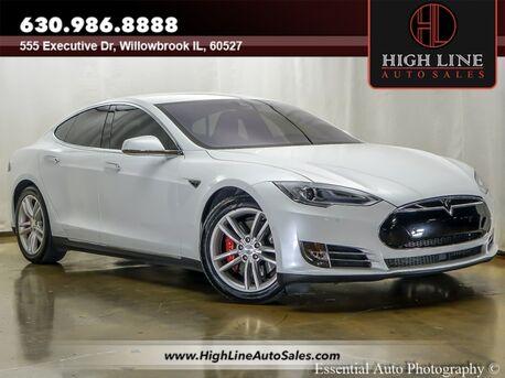 2014_Tesla_Model S_P85D_ Willowbrook IL