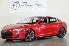 2014 Tesla P85+ P85+ 3rd Row Seating 21 Wheels Tech Pkg Air Susp
