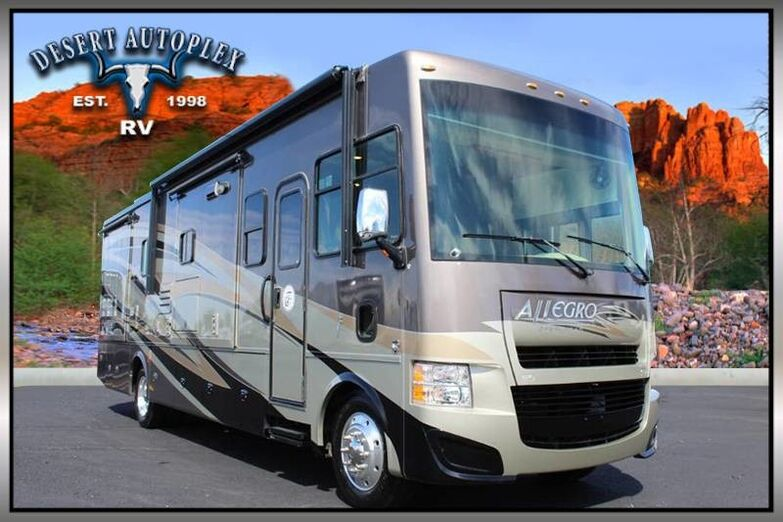 2014 Tiffin Allegro 34TGA Triple Slide Class A RV Mesa AZ