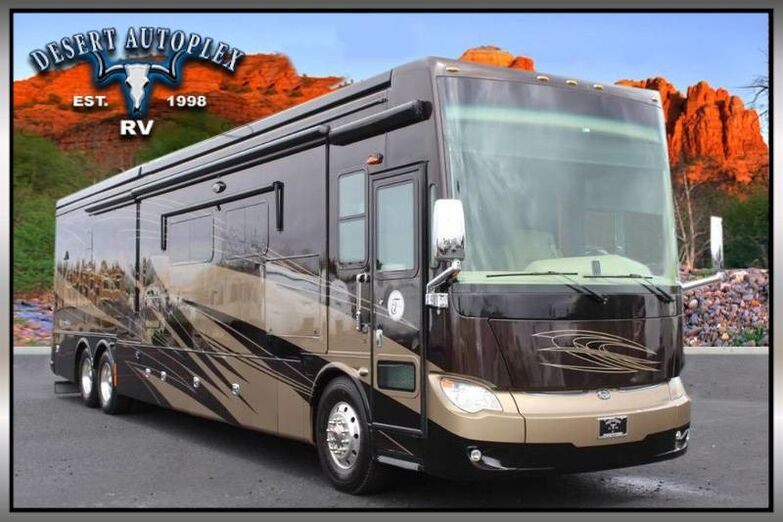 2014 Tiffin Allegro Bus 45LP Quad Slide Class A Diesel RV Treated w/Cilajet Anti-Microbial Fog Mesa AZ