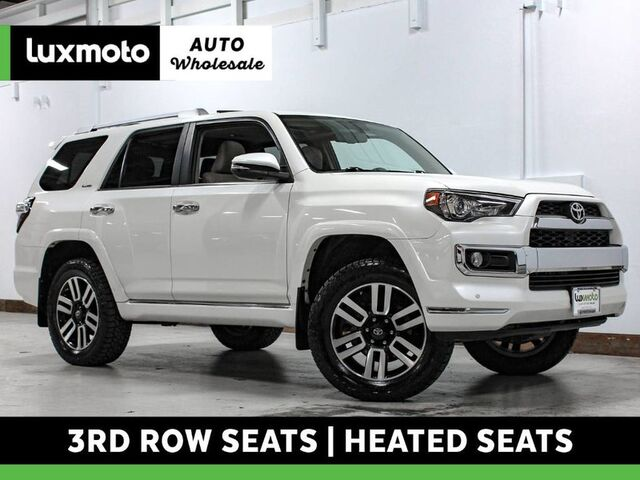 2014 Toyota 4Runner Limited 4WD 3rd Row Navigation Heated Seats Portland OR