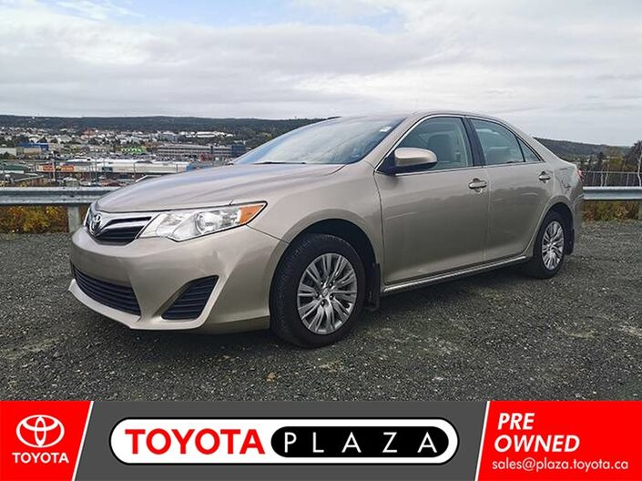 2014 Toyota Camry LE St. Johns NL