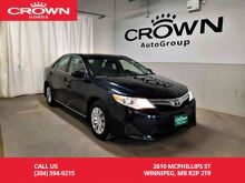 2014_Toyota_Camry_LE/one owner/clean title/low kms/remote start/ back up cam_ Winnipeg MB