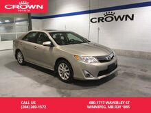 2014_Toyota_Camry_XLE i4 / One Owner / Local / Loaded / Great Condition_ Winnipeg MB