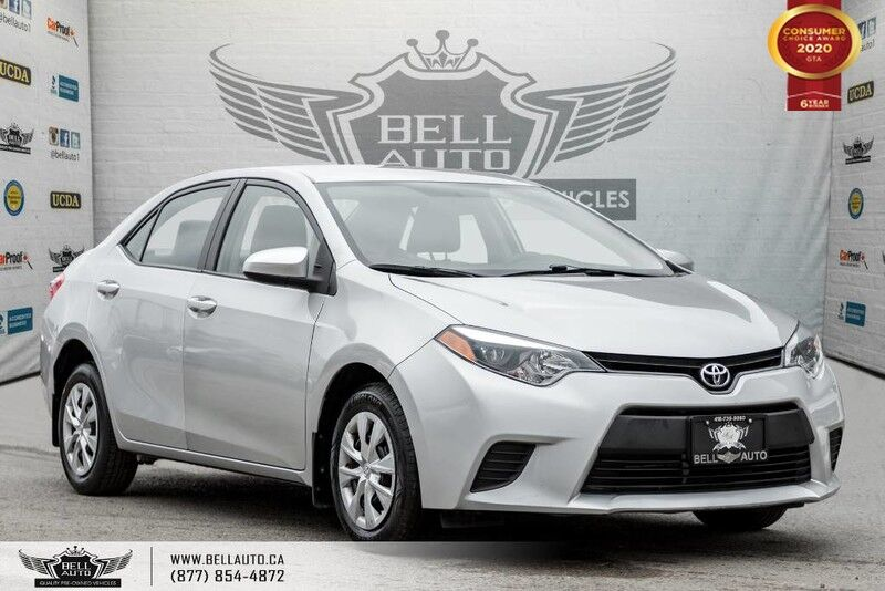 2014 Toyota Corolla CE, NO ACCIDENT, BLUETOOTH, TRACTION CNTRL Toronto ON