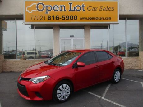 2014 Toyota Corolla L 4-Speed AT Las Vegas NV